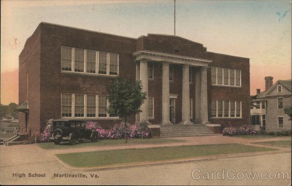 High School Building Martinsville Virginia