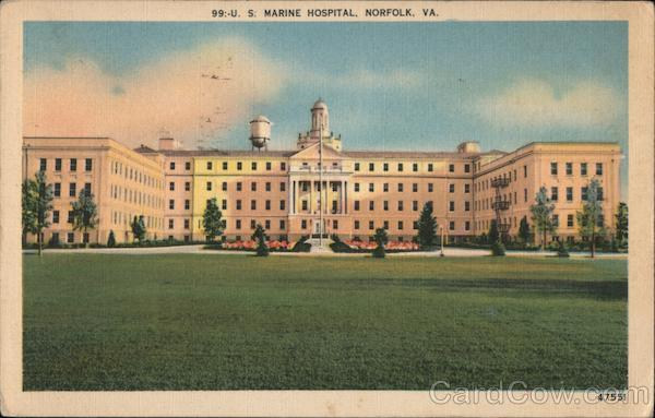US Marine Hospital Norfolk Virginia