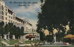 The Sheraton Bon Air Hotel Postcard
