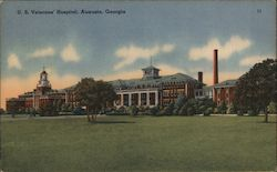 U. S. Veterans' Hospital Postcard