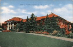 Georgia Academy for the Blind Postcard