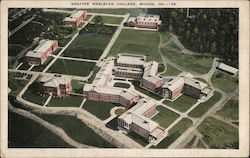 Greater Wesleyan College Postcard