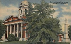 Bartow County Courthouse Postcard