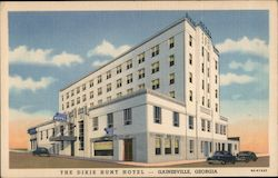 The Dixie Hunt Hotel - Gainesville, Georgia Postcard