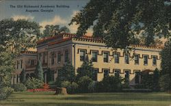 The Old Richmond Academy Building Postcard