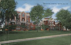 The Macon Hospital Postcard