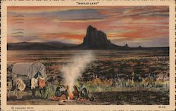 Sunset in Navajo-Land, The Land of Enchantment