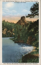 Granite Springs Reservoir Postcard