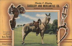 Charles P. Shipley Saddlery and Mercantile Co. Postcard