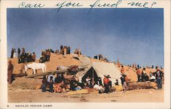 Navajo Indian Camp