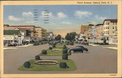 Third Avenue Postcard