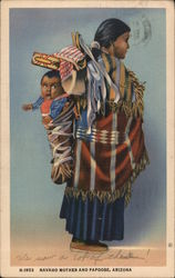 Navaho Mother and Papoose, Arizona