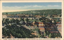 Bright Angel Lodge and Cabins on the Canyon's Rim