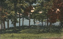 View of the Upper Lake, Sardis Lake Postcard