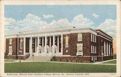 Auditorium - Murray State Teachers College Postcard