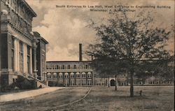 Lee Hall and Engineering Building, Mississippi A & M College Postcard