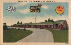 Gamecock Motel, US 15, US 15A and US 301, Santee, S.C.