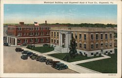 Municipal Building and Hopewell Bank & Trust Co.