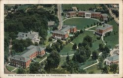 Mary Washington College from the Air Postcard