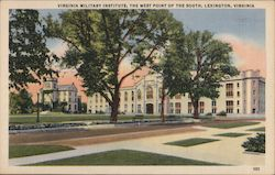Virginia Military Institute, West Point of the South Postcard