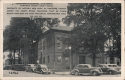 Hartford County Court House Postcard