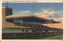 Grandstand and Clubhouse, City Race Track