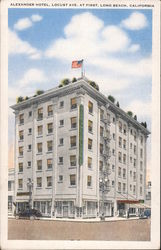 Alexander Hotel, Locust Ave. at First