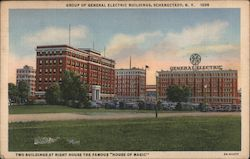 Group of General Electric Buildings Postcard