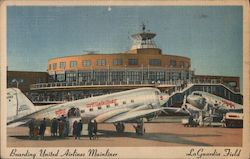 Boarding United Airlines Mainliner, LaGuardia Field