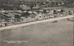 Aerial View of Stannard Beach