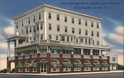 Hotel Adelphi-Witte, Atlantic and Pine Ave.