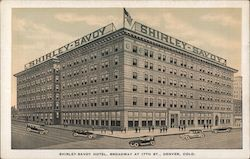 Shirley-Savoy Hotel, Broadway at 17th Street