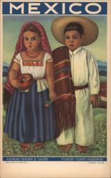 Two Mexican Children - Mexican Tourist Association