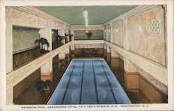 Swimming Pool, Ambassador Hotel, 14th and K Streets, N.W., Washington, D.C.