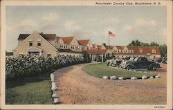 Manchester Country Club Postcard