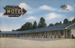 Dixie Land Motel Postcard