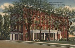 Hotel Canandaigua, In the Finger Lakes of Central New York Postcard