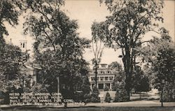 Webb House Postcard