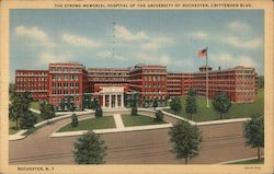 The Strong Memorial Hospital of the University, Crittenden Blvd. Postcard