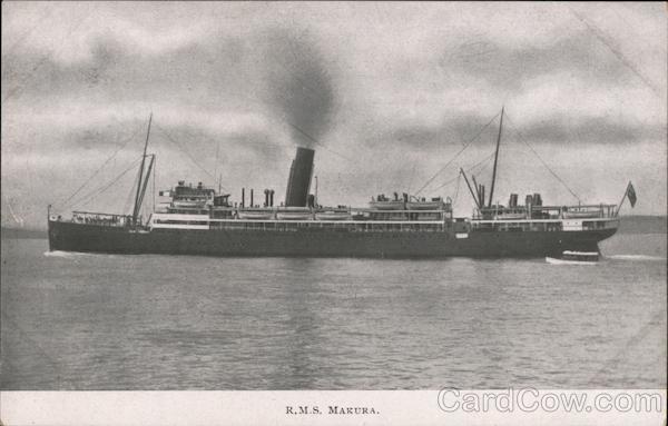 R.M.S. Makura, Union Steam Ship Company of New Zealand