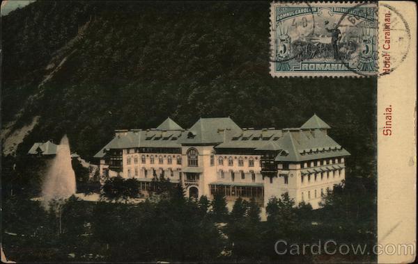 Siniaia Hotel caraiman Sinaia Romania Eastern Europe
