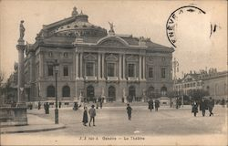 The Grand Theater of Geneva opera house