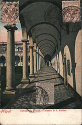 Entry into the Cloister Galleries, San Martin Postcard