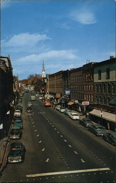 Main Street, Brattleboro VT | Bill Revill | Flickr
