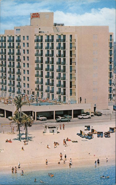 Howard Johnson's Motor Lodge, The Only Oceanfront in the Hollywood - Miami Beach Area Hollywood Beach