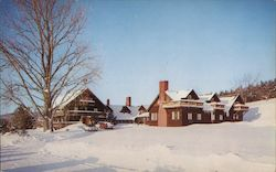 Winter at Trapp Family Lodge Postcard