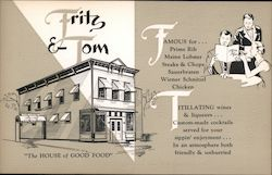 "Fritz & Tom's ""The House of Good Food"""