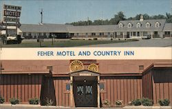 Feher Motel and Country Inn Postcard