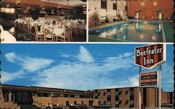 Beefeater Inn: Inn, Restaurant, and Hotel Pool Postcard