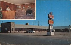 Village Inn Motel Postcard
